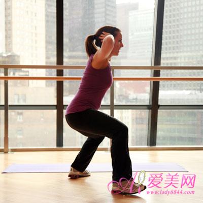 夏季推荐简单快速瘦腿运动 5步快速瘦腿操