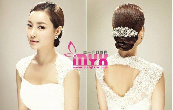 10款韩式发型 打造唯美新娘 飙升幸福指数