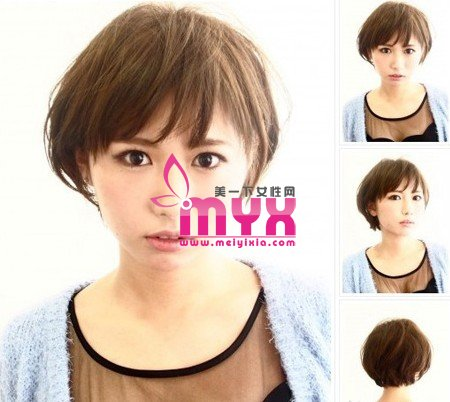 最适合头发少的中短发 潮流气质百分百