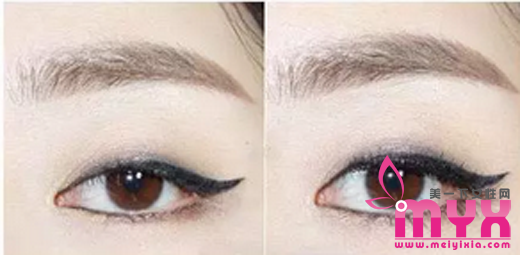 单眼皮天生的宿命就是割双眼皮,炯炯有神的单眼皮化妆神技