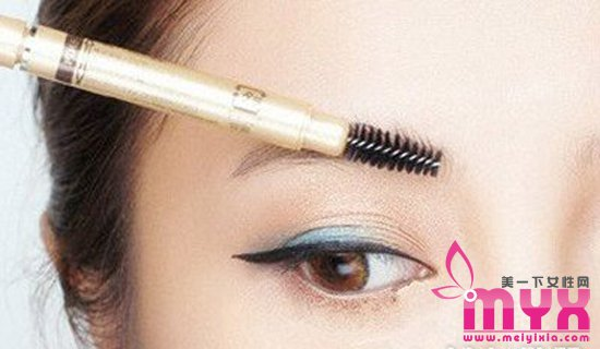 特别女孩陈乔恩平粗眉画法 减龄平粗眉怎么画